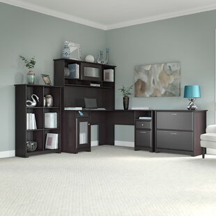 Hillsdale L-Shape Executive Desk Office Suite
