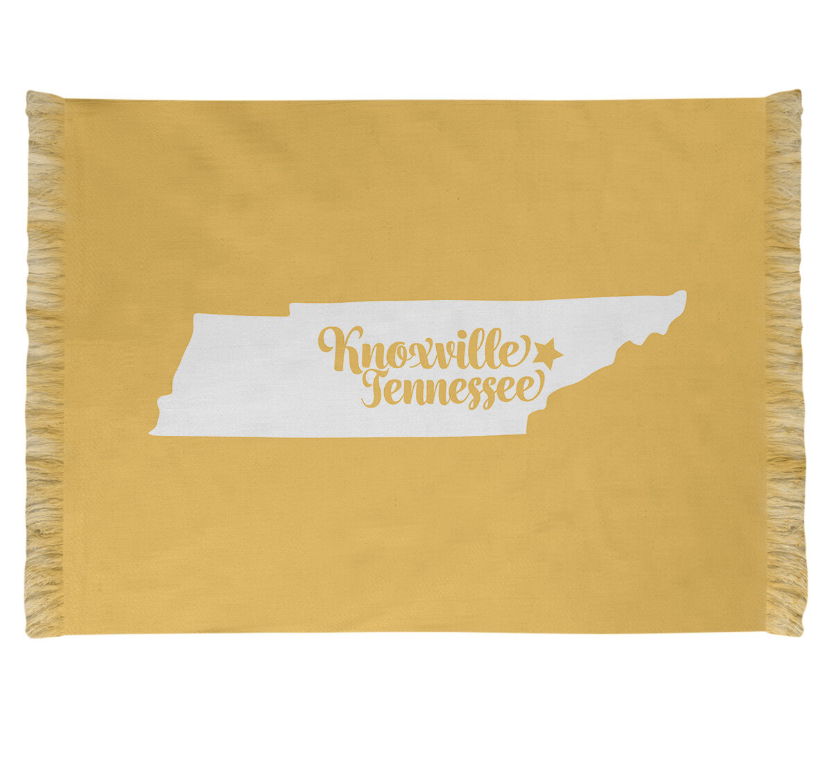 East Urban Home Knoxville Tennessee Yellow Area Rug Wayfair