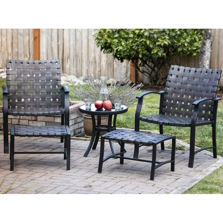 Latitude Run® Griffing Metal 350 - Person Seating Group & Reviews