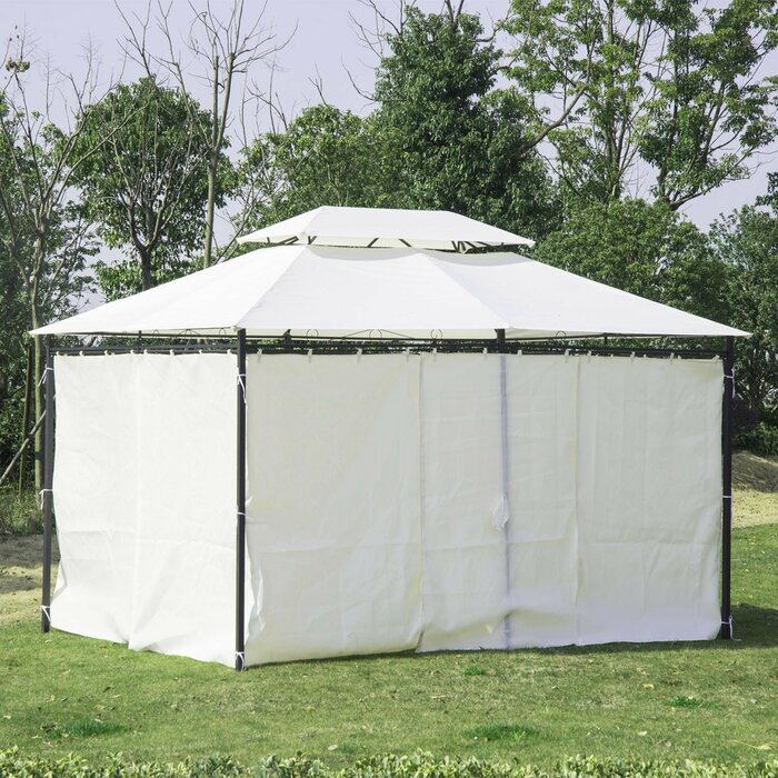 outdoor patio green canopy home for party in portable gazebo shelter gazebos goplus item on wedding awning tent garden from