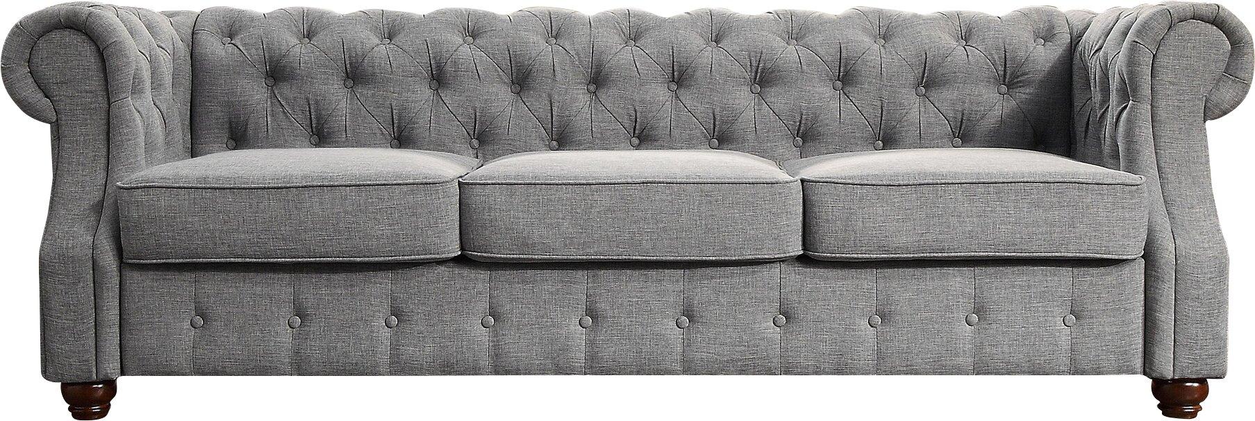 Olivia Tufted Chesterfield Sofa