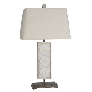 Derick Coastal Sand Dollar 34 Table Lamp