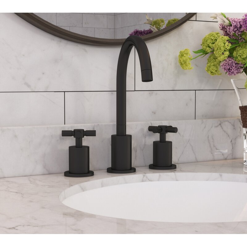 Wildon Home Eliana Widespread Bathroom Faucet Reviews Wayfair