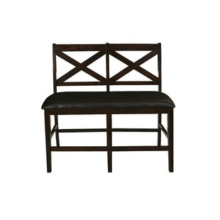Dacosta Faux Leather Bench by Winston Porter