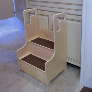 Contender Step Stool by Wood Designs