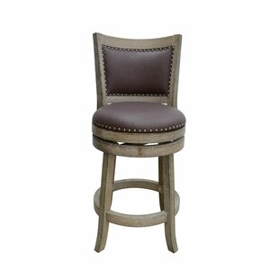 Reviews Edwina 24 Swivel Bar Stool by Darby Home Co Reviews (2019) & Buyer's Guide