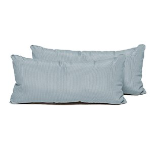 SPA Indoor/Outdoor Lumbar Pillow (Set of 2)