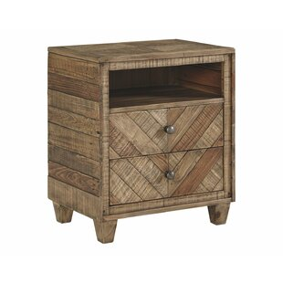 Jessamine 2 Drawer Nightstand