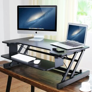 Helfrich Height Adjustable Standing Desk Converter