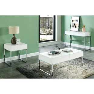 Darya Contemporary Rectangular Wooden Console Table by Orren Ellis