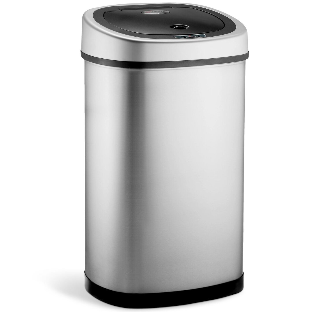 Kitchen Sensor Bin, 50L Large Touch Free Waste Rubbish Bin -