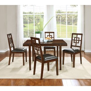 Cherry 5 Piece Dining Set BestMasterFurniture