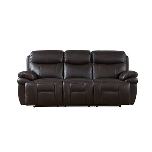 Rushmore Leather Reclining Sofa by Amax
