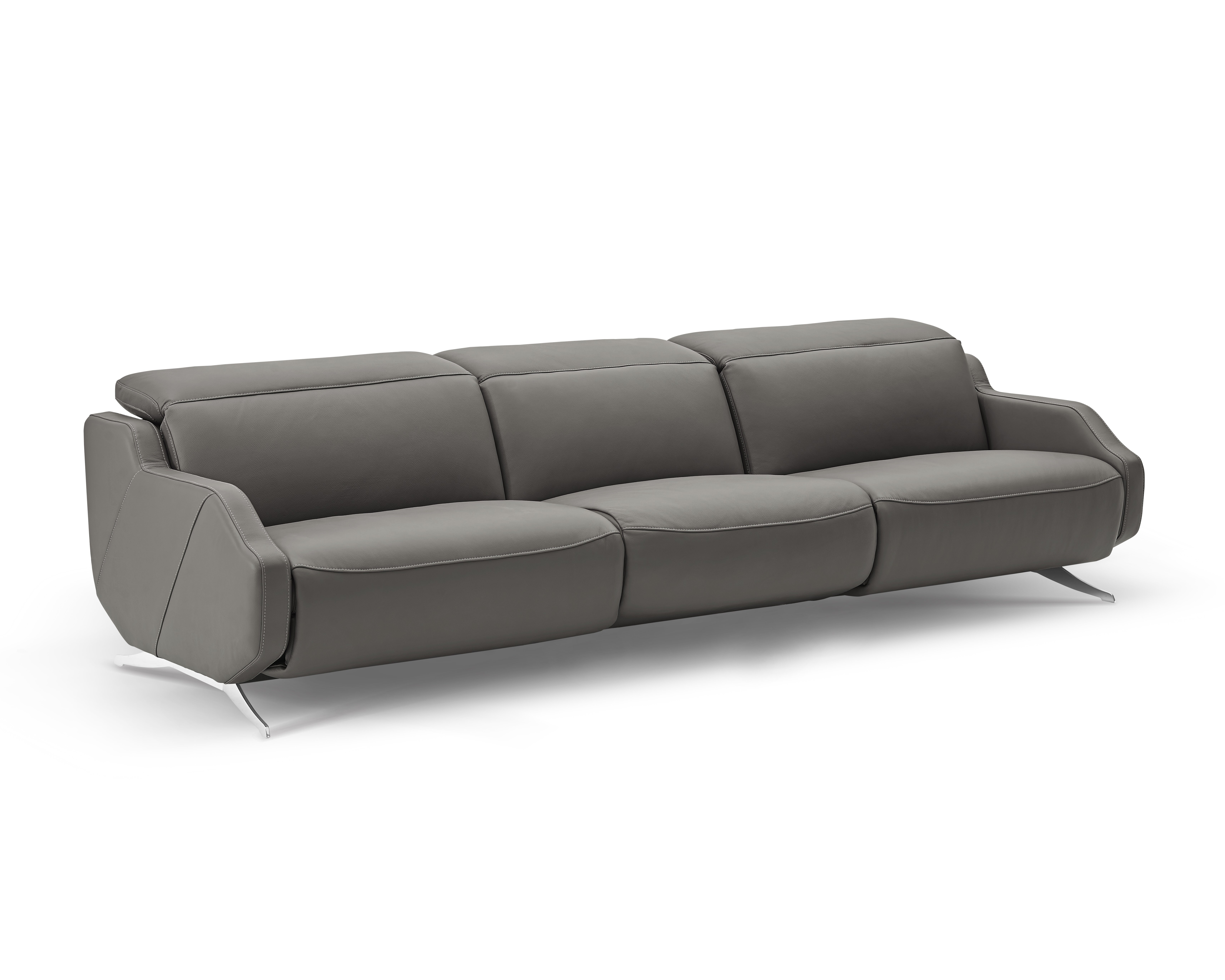 Berlinville Leather Reclining Sofa