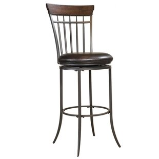 Royalton 30 Swivel Bar Stool Red Barrel Studio