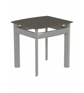 Kor Square Aluminum Tea Table