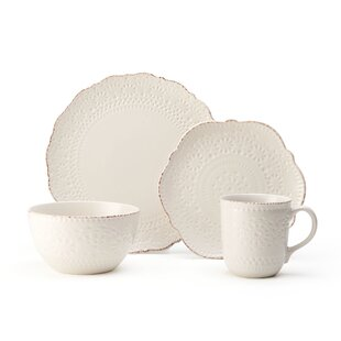 Chateau Everyday 16 Piece Dinnerware Set, Service For 4 by Pfaltzgraff Cool