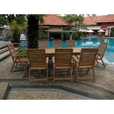 Josef Luxurious 9 Piece Teak Dining Set