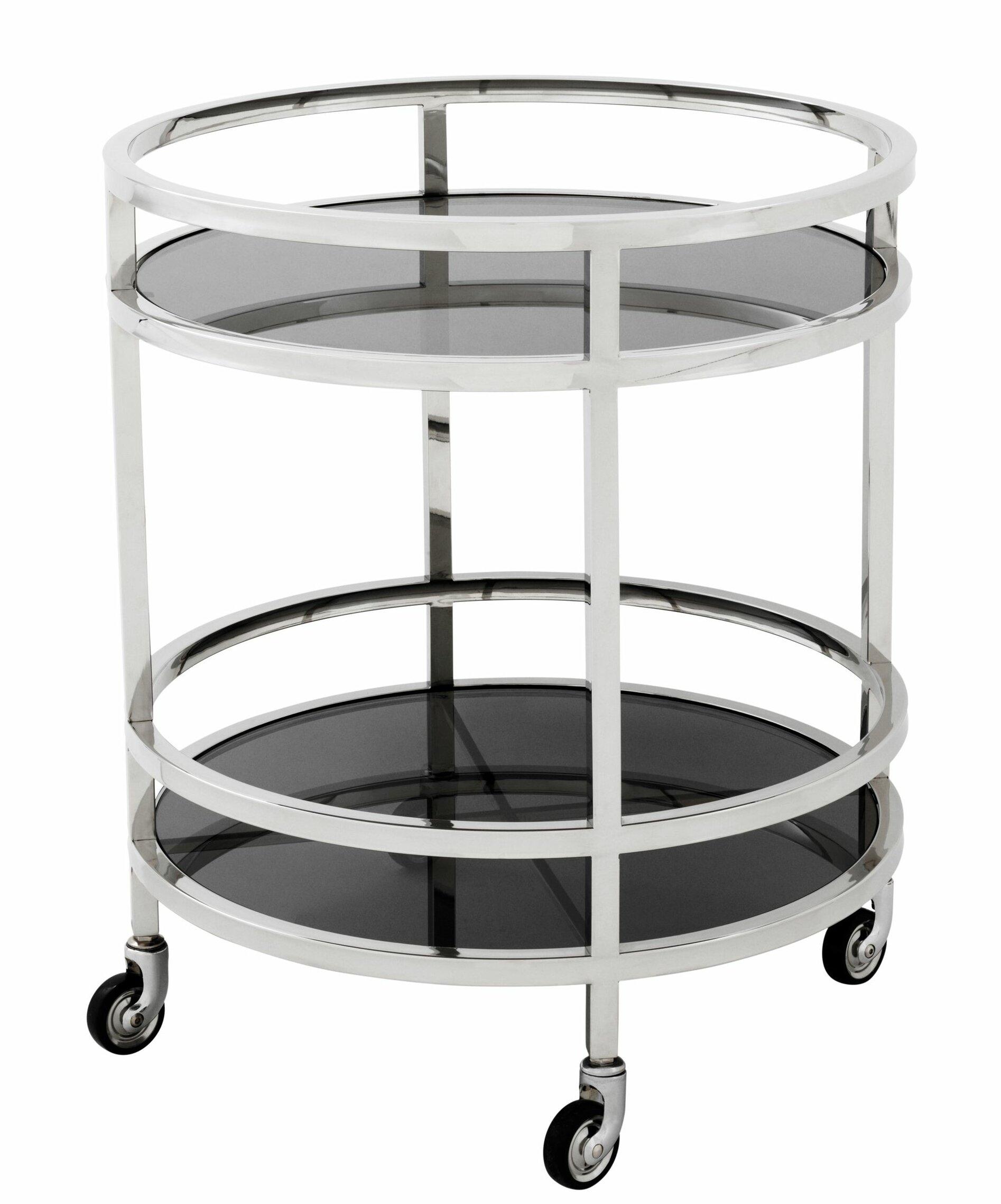 Eichholtz Round Bar Cart Wayfair