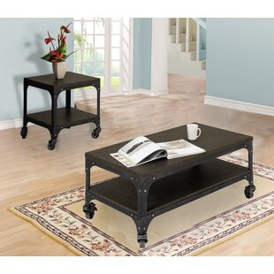 Burbach 2 Piece Coffee Table Set