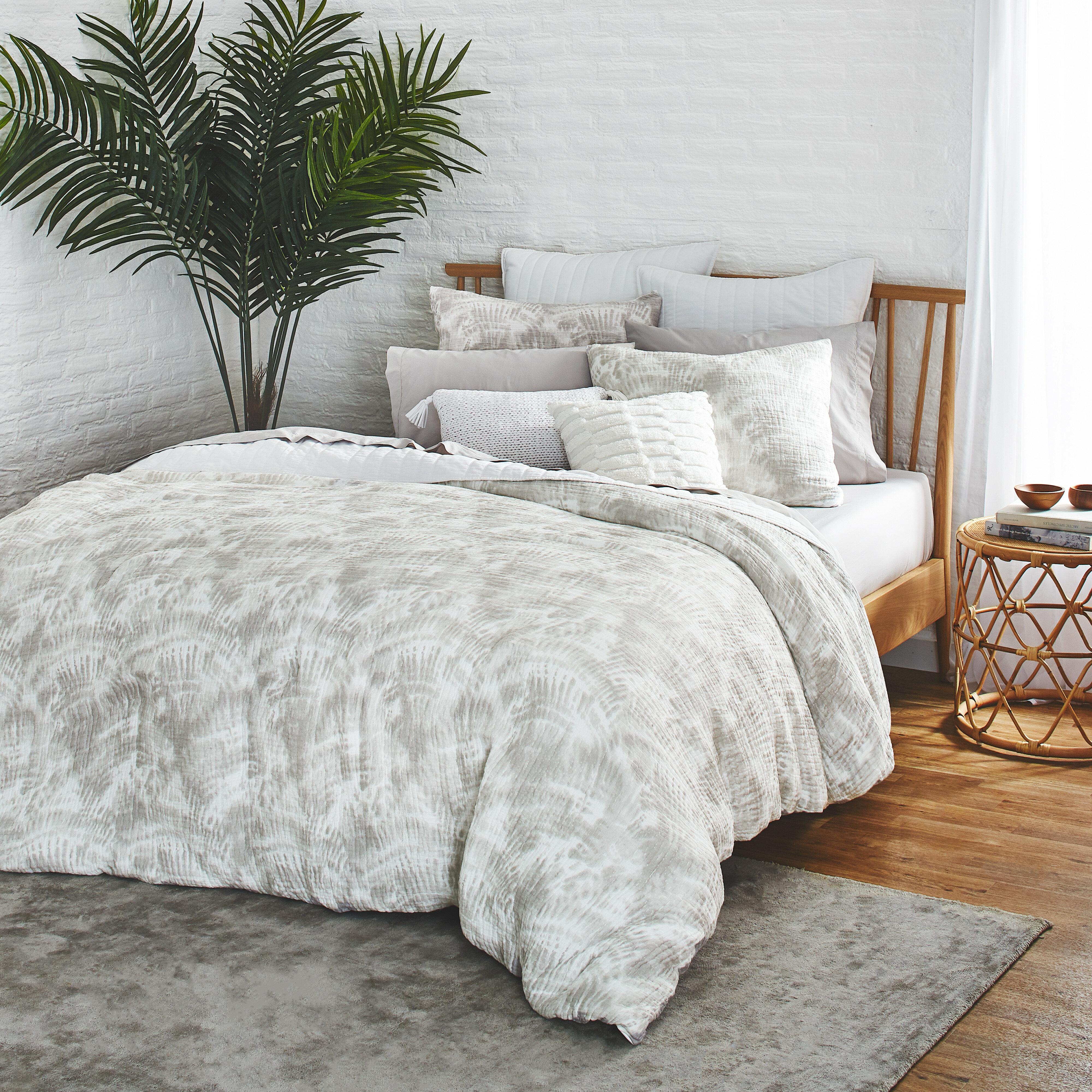 Watercolor Palms Comforter Set Allmodern