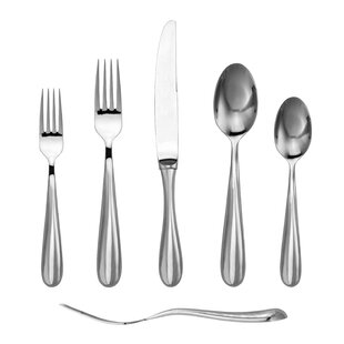 Florence 20 Piece 18/10 Stainless Steel Flatware Set, Service for 4