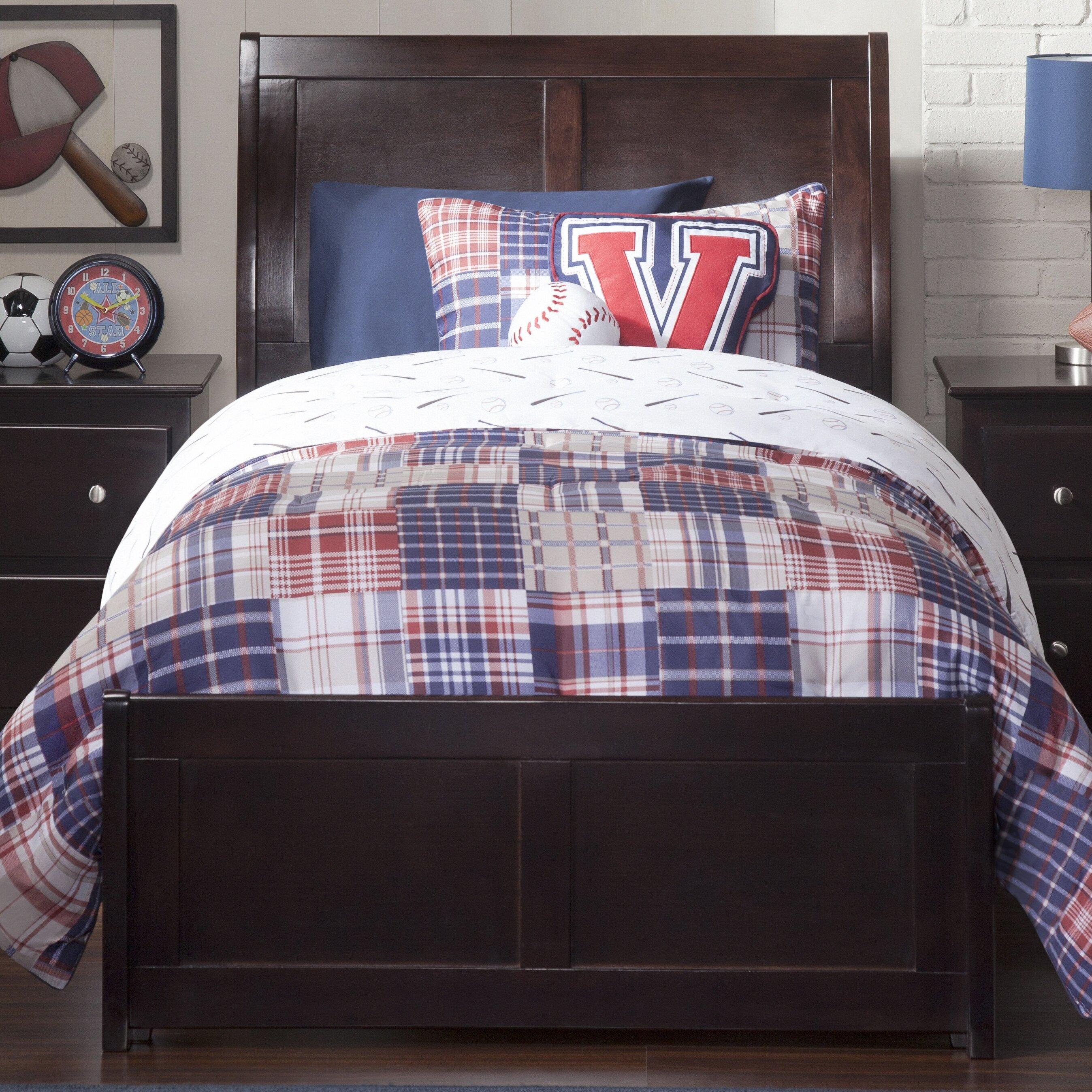 Harriet Bee Quitaque Panel Bed Reviews Wayfair Ca