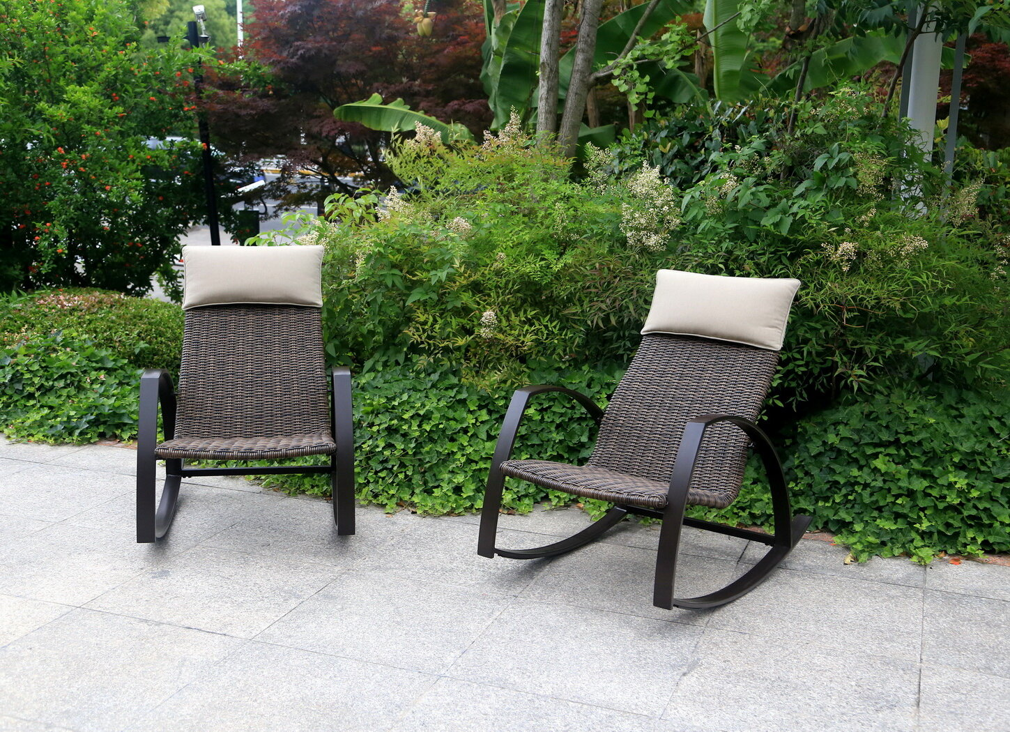 Super Lachance Woven Rocking Chair Ncnpc Chair Design For Home Ncnpcorg