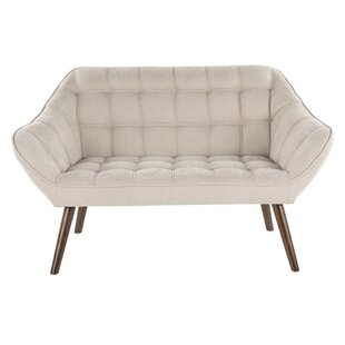 Abbott Mid-Century Loveseat by Turn on the Brights Today Only Sale