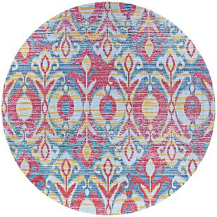 Beyer Pink/Blue Indoor/Outdoor Area Rug