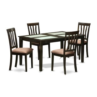 Capri 5 Piece Dining Set Wooden Importers