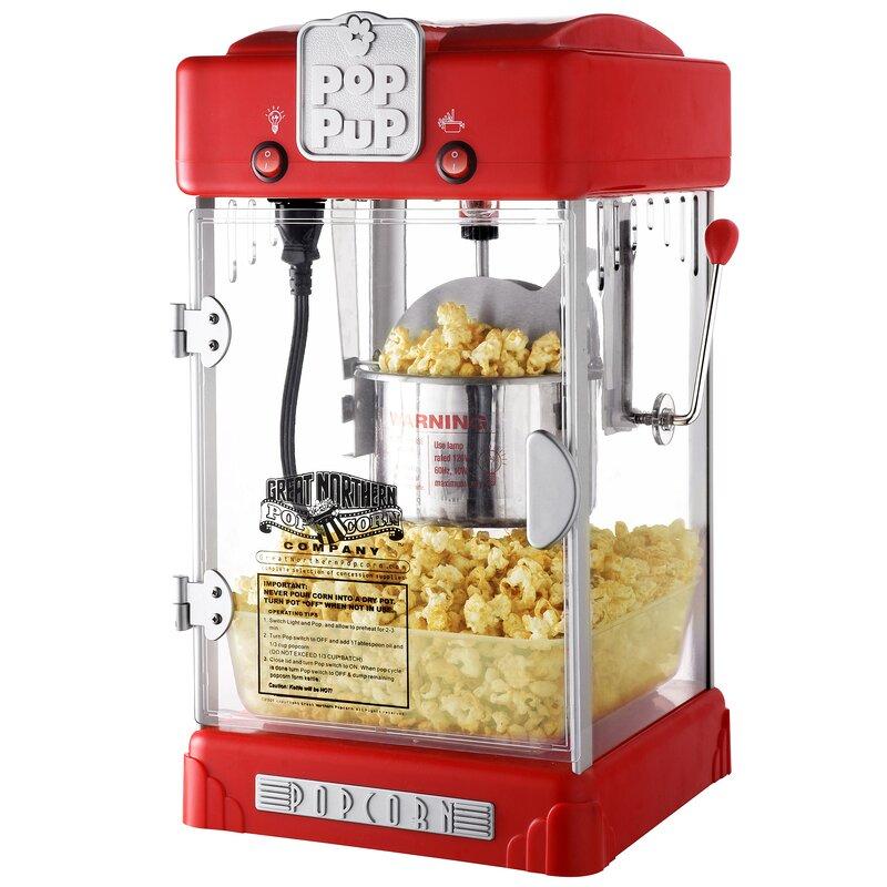 popcorn machine tabletop