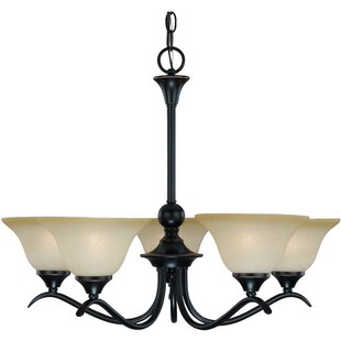 Coupon Dover 5-Light Shaded Chandelier By Hardware House