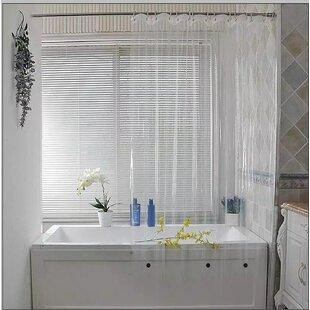 Savings Waterproof Vinyl Shower Curtain (Set of 3) BySymple Stuff