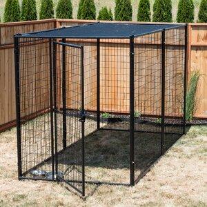 Lucky Dogu2122 Modular Steel Yard Kennel