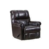Crisscross Leather Manual Swivel Recliner by Lane Furniture