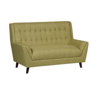 Gorgonio Tufted Mid Century Loveseat by Trent Austin Design Best #1