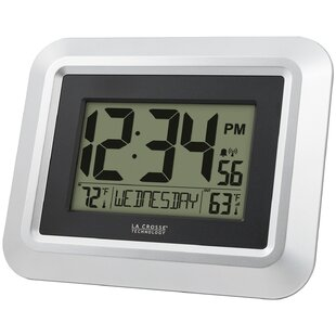 Digital Clock With Temperature Wayfair