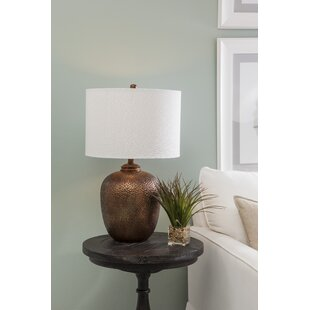 Copper wire table lamp wayfair dailey 26 table lamp greentooth Choice Image
