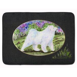 Samoyed Memory Foam Bath Rug