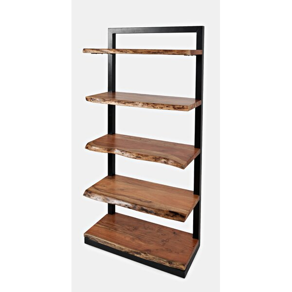 Foundry Select Lisson Nature S Edge 5 Shelf Standard Bookcase Wayfair