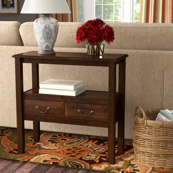 Charlton Home Bockman 30 5 Solid Wood Console Table Reviews Wayfair