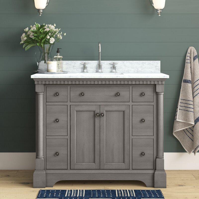 Joss Main Seadrift 42 Single Bathroom Vanity Set Reviews Wayfair
