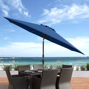 Sittinprettyllc Haven Beach Umbrella Reviews Wayfair