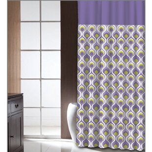 Best Price Chelseaville Curved Dusk Shower Curtain ByLatitude Run