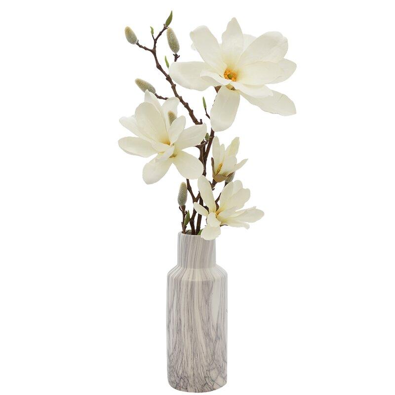 Magnolia Floral Arrangements In Vase Reviews Joss Main