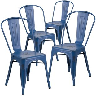 Ens Stacking Patio Dining Chair Set Of 4