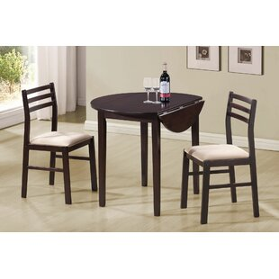Magruder 3 Piece Dining Set by Charlton Home Herry Up
