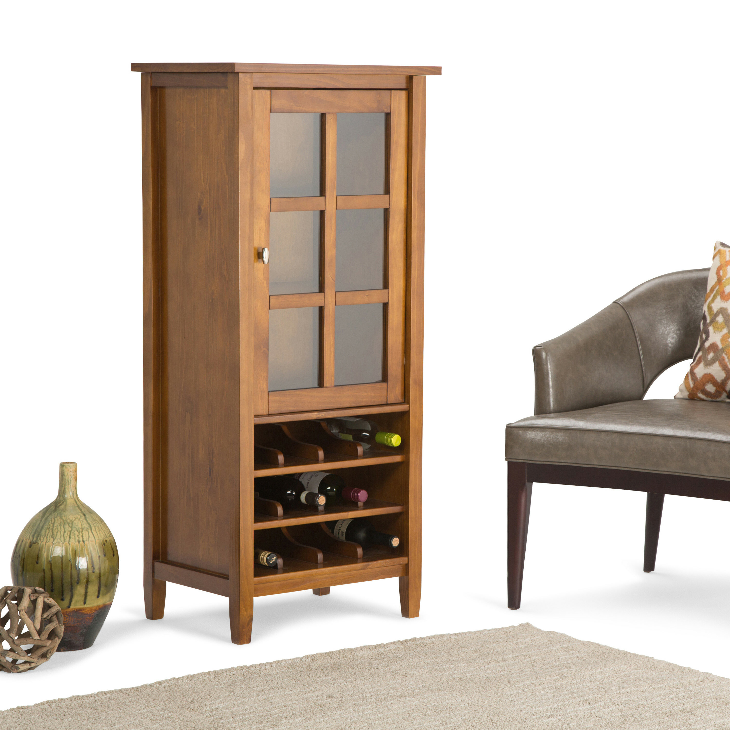Winston Porter Oyama Bar Cabinet Reviews Wayfair