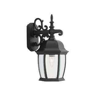 Great Price Thornhill Traditional 1-Light Outdoor Wall Lantern By Three Posts